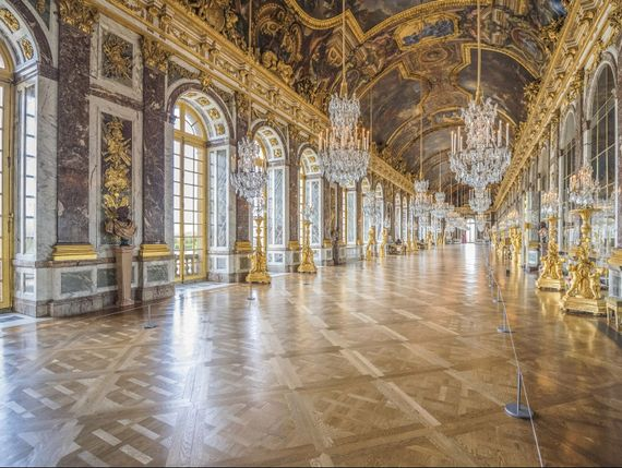 French Doors at the Palace of Versailles