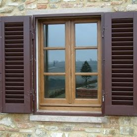 Typical external shutters on windows used in most EU member states.