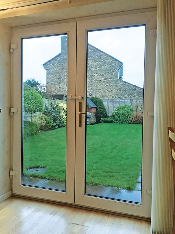 The Burglarybuster 3 for securing Opening-Inwards French doors
